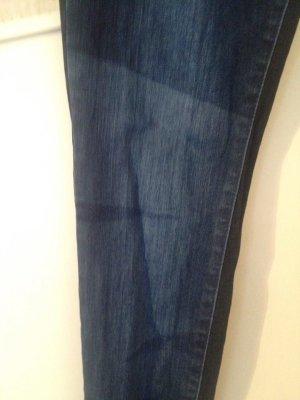 Desigual Drainpipe Trousers blue cotton