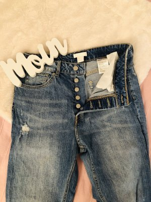H&M Conscious Collection Hoge taille jeans veelkleurig
