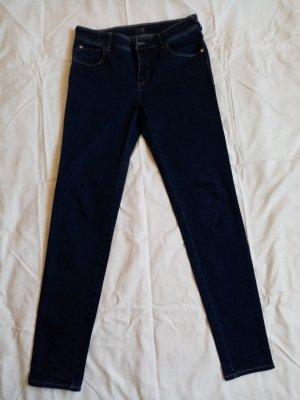 Armani Tube Jeans blue