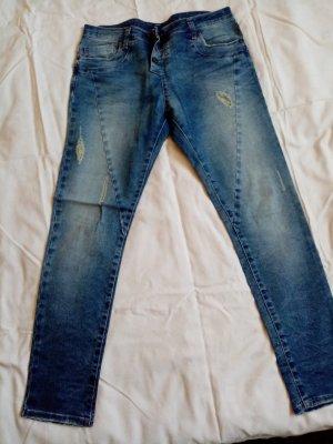 Please Jeans a sigaretta blu