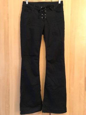 Kookai Jeans flare bleu foncé