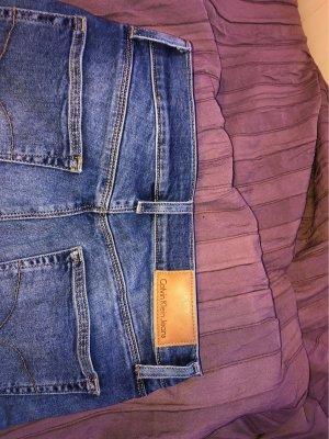 Calvin Klein Jeans Pantalon taille basse bleu-bleu foncé
