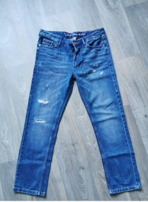 Calvin Klein High Waist Jeans blue-steel blue