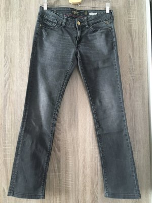 Replay Low Rise Jeans anthracite-dark grey
