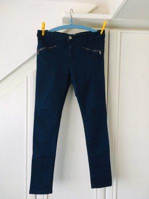 Brave Soul Skinny jeans donkerblauw