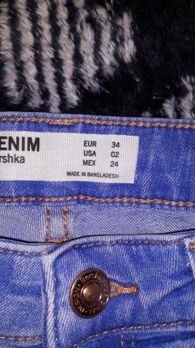 Bershka Jeans a vita alta multicolore