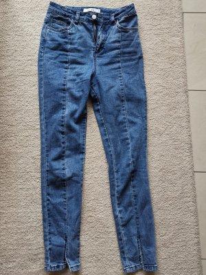 NA-KD High Waist Jeans blue