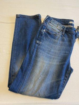 Mavi Jeans Co. Boyfriend Trousers blue-dark blue
