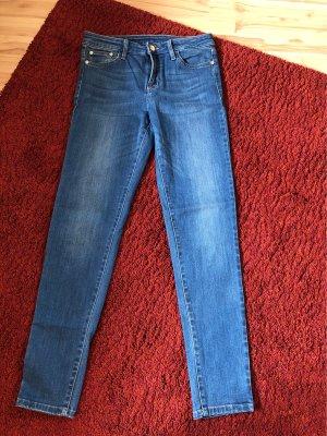 Tally Weijl Jeans vita bassa blu Denim