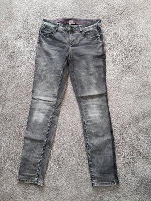 Street One Pantalon strech gris clair-gris