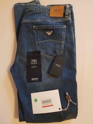 Armani Jeans Jeans skinny bleu acier