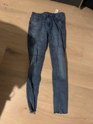 Pull & Bear Jeans skinny blu