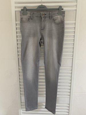 Dl1961 Pantalone a sigaretta grigio chiaro-grigio