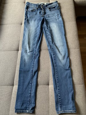 Abercrombie & Fitch Jeansy o kroju boot cut chabrowy