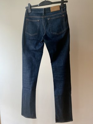 Acne Hoge taille jeans donkerblauw