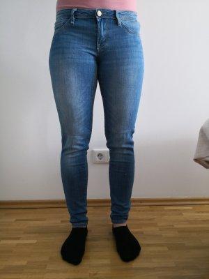 Tally Weijl Jeans cigarette bleu acier