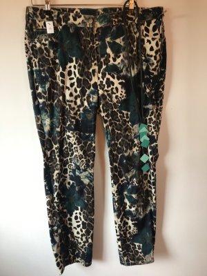 Jeans Adelina gr.46 neu bunt Mode Fashion m. Kette