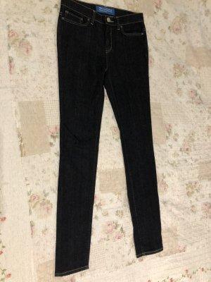 Adidas Originals Jeansy z prostymi nogawkami ciemnoniebieski Denim