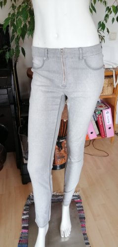 Airfield Jeans stretch gris clair