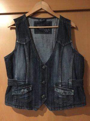 Cecil Smanicato jeans multicolore