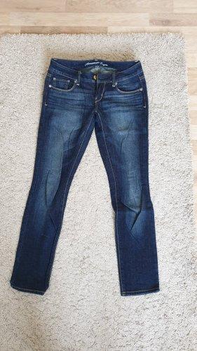 American Eagle Outfitters Jeans skinny bleu-bleu foncé
