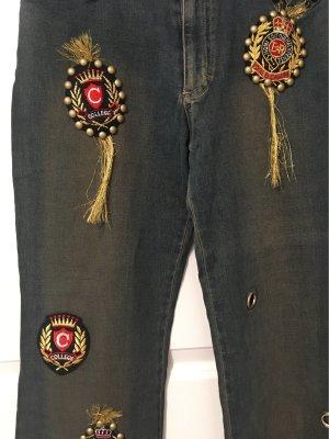 Jeansy ze stretchu Wielokolorowy Bawełna