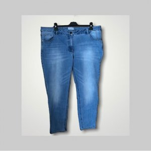 Angel of Style Jeans slim fit blu neon