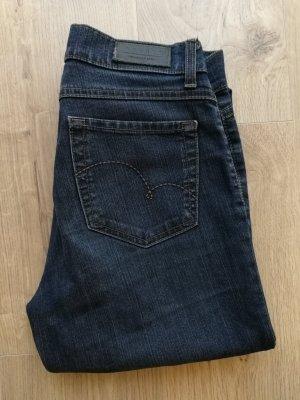 Angels Jeans met rechte pijpen blauw-donkerblauw Katoen