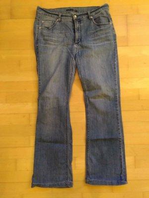 Angels Jeans bootcut gris ardoise coton