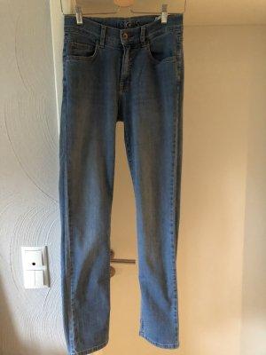 Angels Jeans coupe-droite bleu-bleu clair