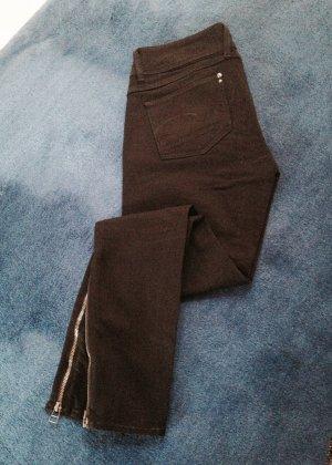 Gstar 7/8-jeans zwart