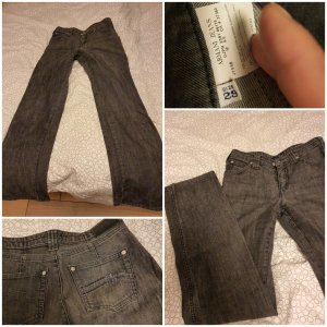 Armani Boot Cut Jeans grey