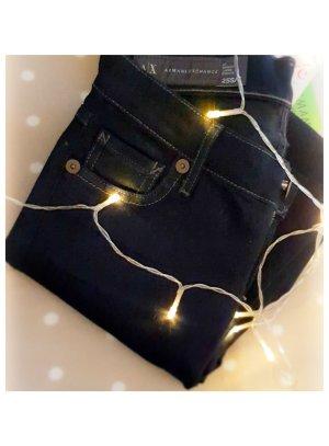 Armani Jeans skinny bleu foncé