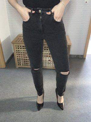 Asos Denim Mom-Jeans Wielokolorowy