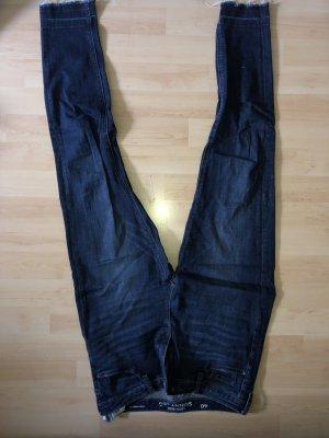 C&A Clockhouse Jeans a vita alta blu scuro Cotone