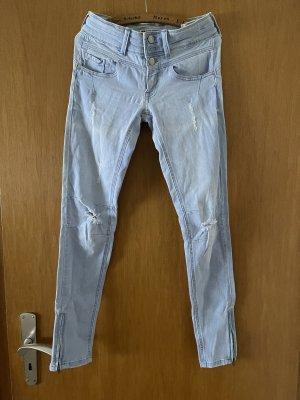 Tally Weijl Jeans skinny bleu clair