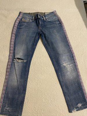Diesel Jeans boyfriend bleu