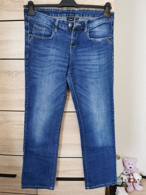 Esmara Jeansy z prostymi nogawkami niebieski-stalowy niebieski
