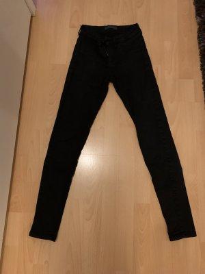 Tally Weijl Jeans taille basse noir coton