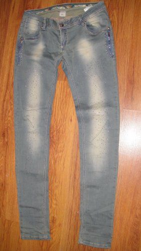 yes lola Jeans stretch multicolore lycra