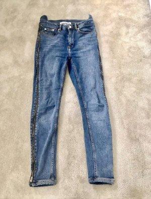 WRSTBHVR Jeans stretch bleuet