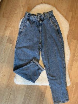 Jeans Baggy Paperbag - Zara