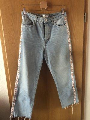 Bershka Jeans baggy multicolore