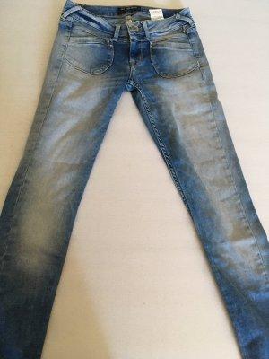 Pepe Jeans London Jeans a carota azzurro
