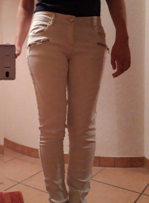 Hailys Pantalone peg-top giallo chiaro Cotone