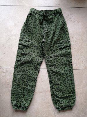Jeans Bershka Cargo Jeans Gr 36