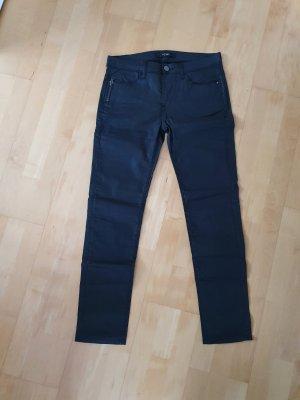 Ichi Jeans a gamba dritta nero
