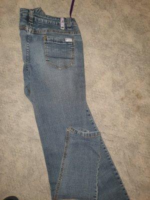 Miss Vivi Pantalón de tubo azul