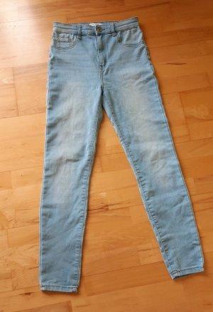 Pull & Bear High Waist Jeans blue