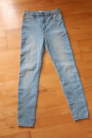 Jeans blau Gr.36 pull&Bear high waist Hose